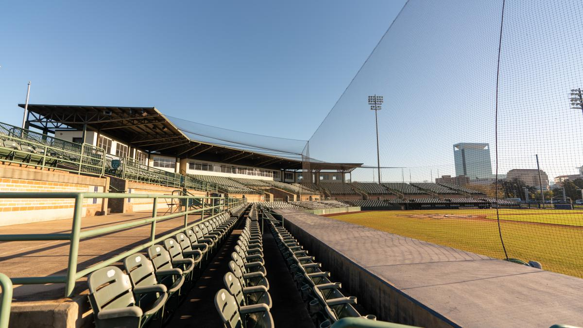 Picture of the stands at Reckling Park