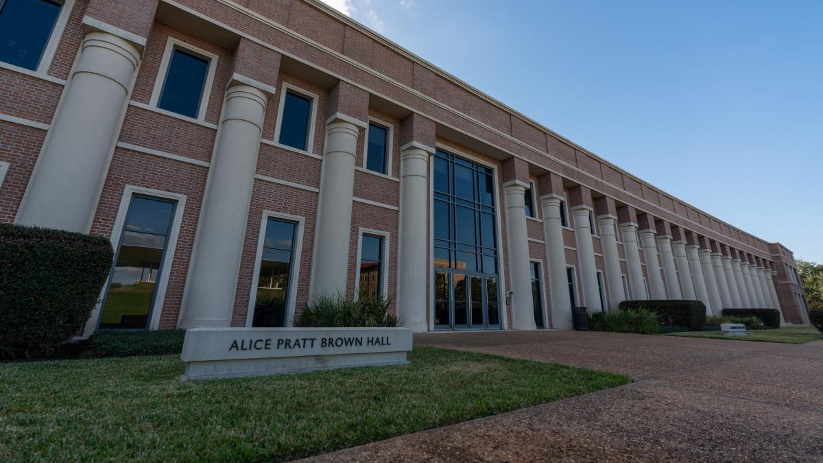 Picture of the outside of Alice Pratt Brown Hall.